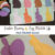 Easter Bunny and Egg Match-Up File Folder Game