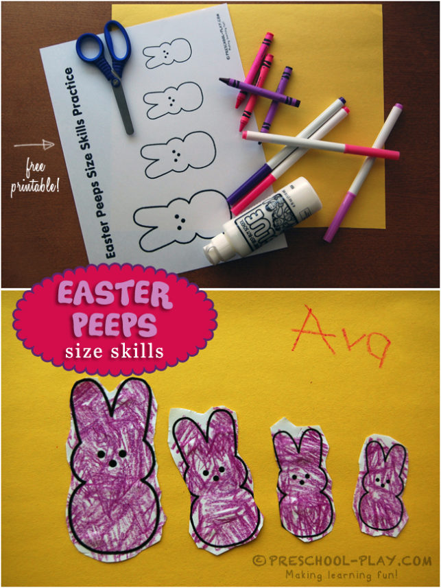 Easter Peeps Math Activity