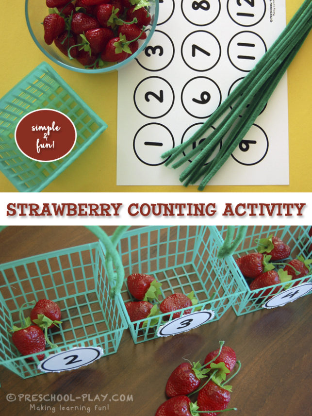 Strawberry Counting Game