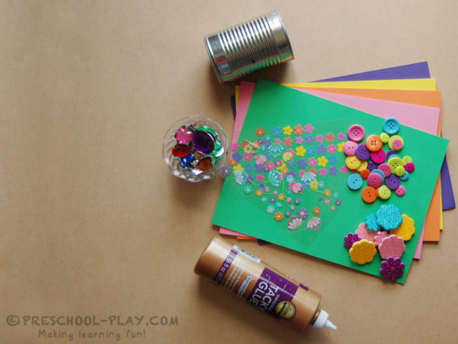 Mother's Day Craft Can Gift