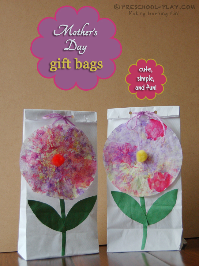Mother's Day Gift Bag Craft