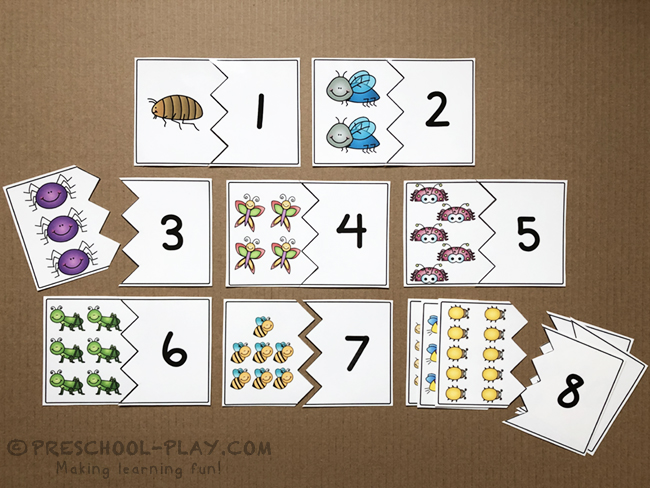 Bugs & Insects Math and Literacy