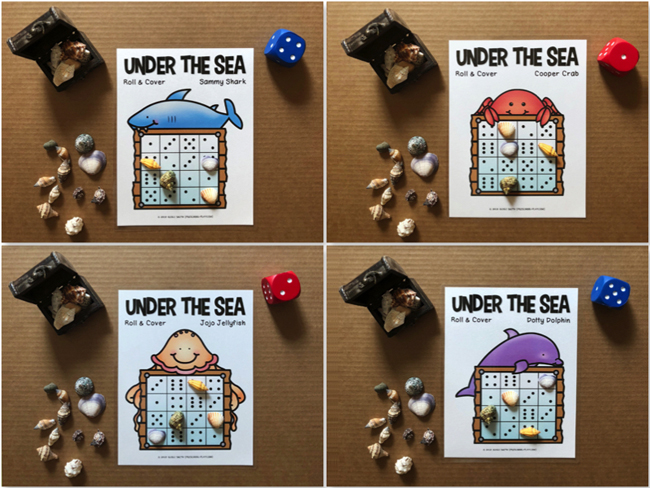 under the sea math and literacy activities