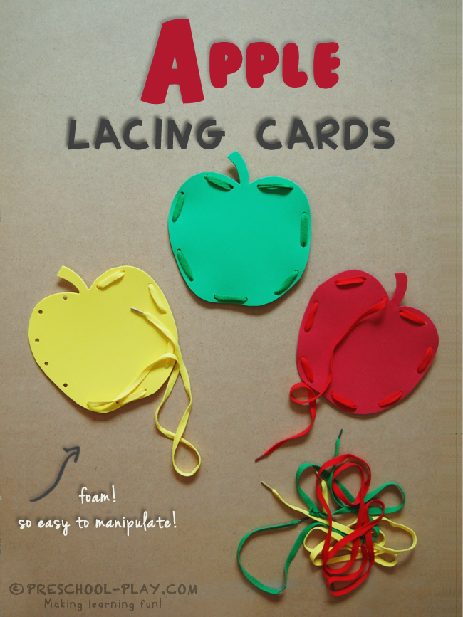 apple lacing cards