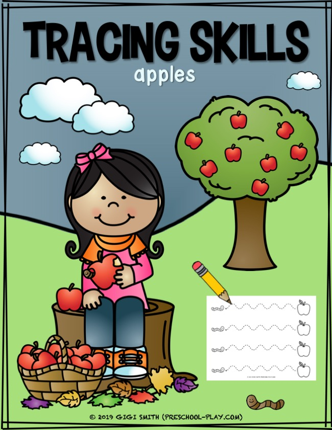 Free Apple Tracing Sheets