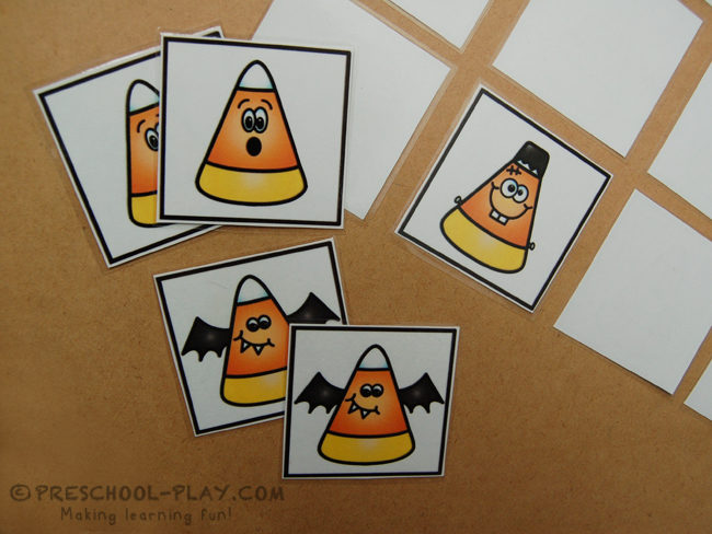 Candy Corn Memory Game