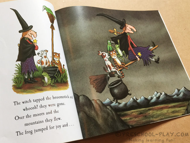 Room on the Broom Broomstick Craft