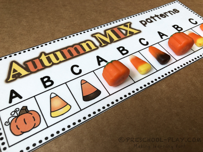 Autumn Mix Pattern Cards