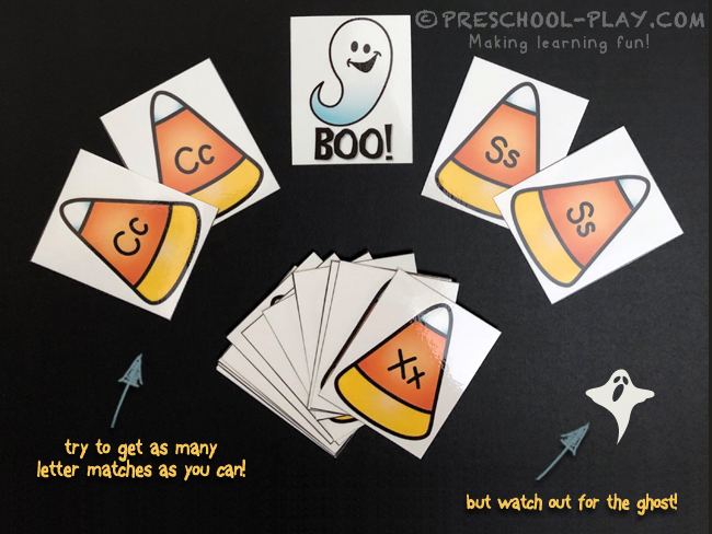 Boo! The Frightfully Fun Alphabet Card Game