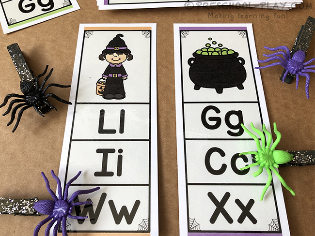 Halloween Math and Literacy Activities