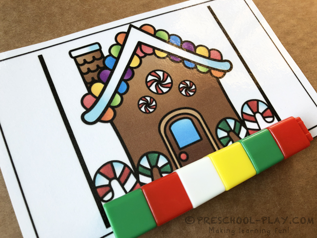 Christmas Measuring Cards