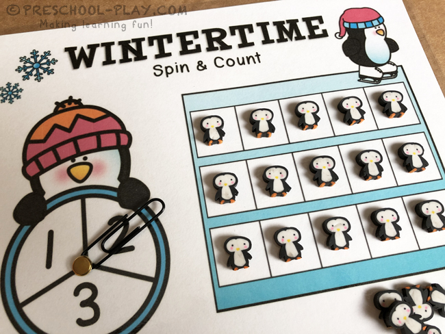 Wintertime Spin & Count