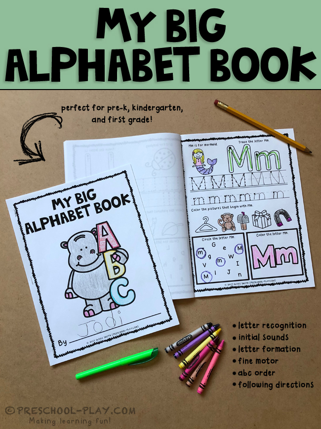 printable alphabet book