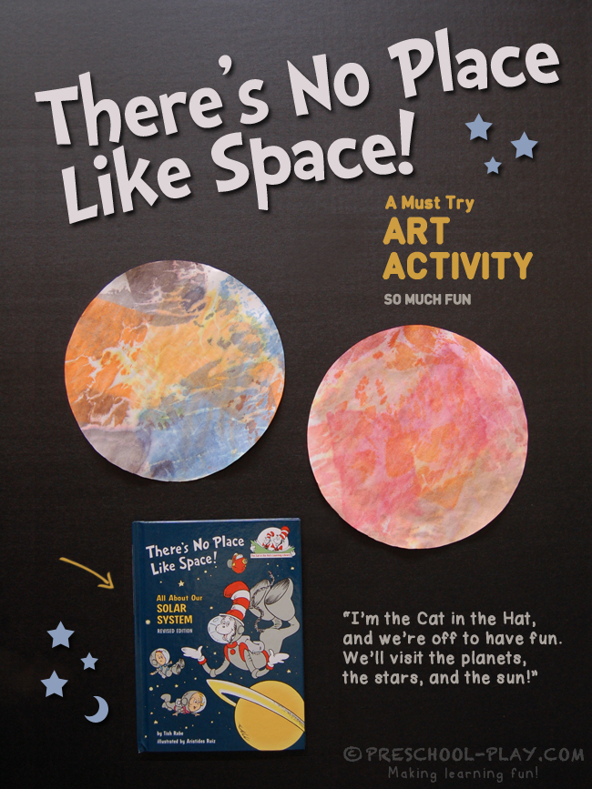 There's No Place Like Space! Art Activity