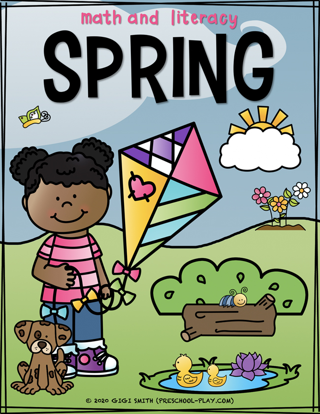 Spring Math and Literacy Activities