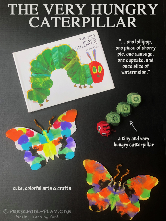 The Very Hungry Caterpillar Art Activities