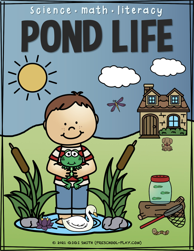 Pond Life Science, Math, and Literacy