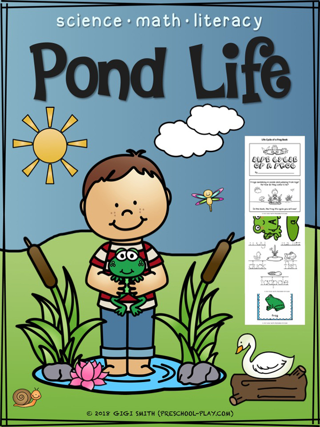 Pond Life - Science, Math, and Literacy Activities