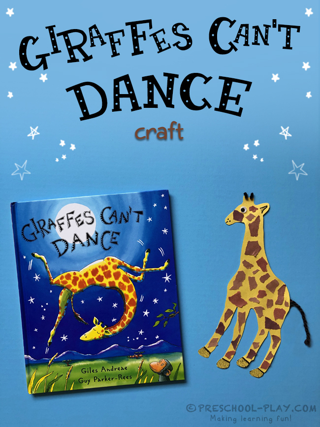 Giraffes Can't Dance Craft
