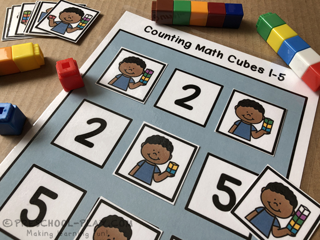 Mathematics - Number Sense 1-10 Math Center Activities