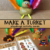 Make a Turkey Playdough Activity Cards
