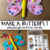 Make a Butterfly Playdough Activity Cards