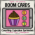 Counting Cupcake Sprinkles Boom Cards | Distance Learning