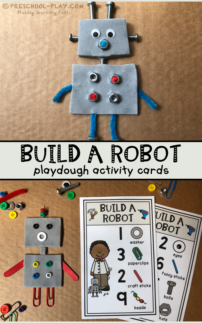 Build a Robot Activity Cards