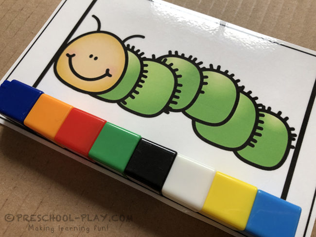 Bugs and Insects Measuring Cards