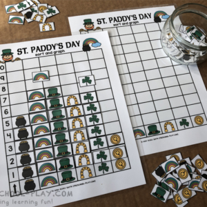 St. Paddy's Day Sort and Graph